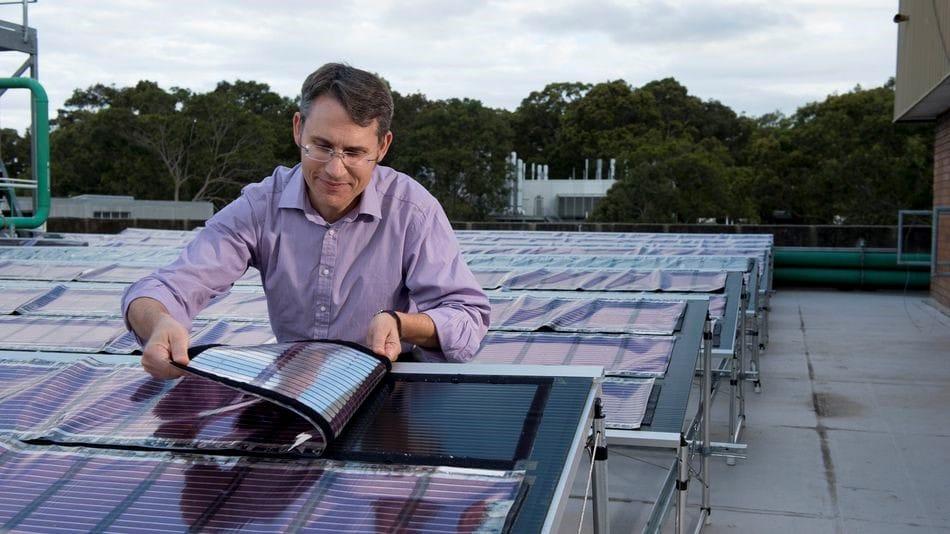 En Australia, desarrollan paneles solares impresos