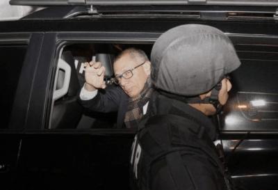 El ex vicepresidente ecuatoriano Jorge Glas está hospitalizado, luego de 16 días de huelga de hambre
