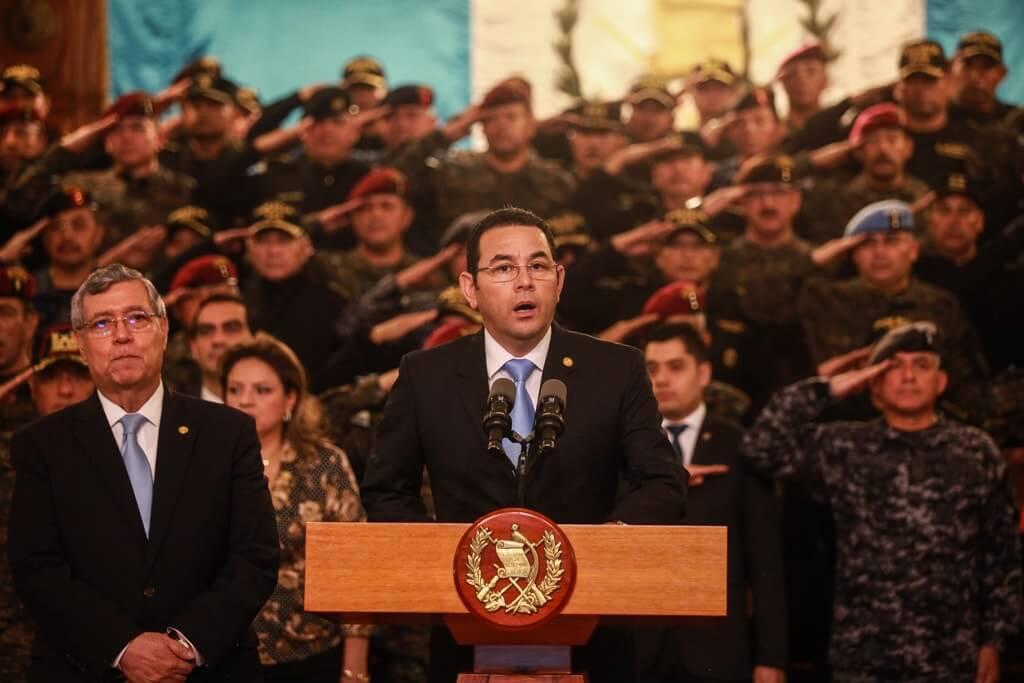 Alerta democrática en Guatemala