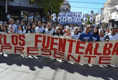 Argentina marchó por la memoria de Carlos Fuentealba