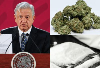 AMLO propone la legalización de las drogas en México