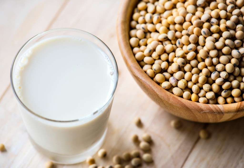 "What is the healthiest vegetable ""milk""?"