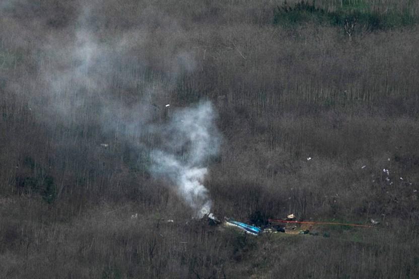kobe helicoptero 0207 getty - Alguaciles de Los Ángeles que compartieron fotos del accidente de Kobe Bryant pueden ser nombrados