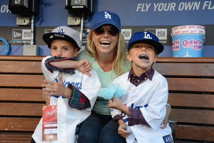 Why Britney Spears does not live with Sean and Jayden, their teenage children?