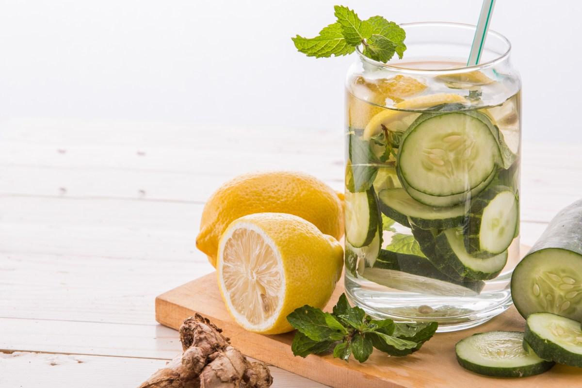 water cucumber lemon