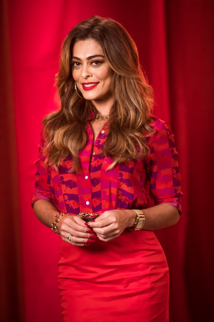 "Juliana Paes is María de la Paz in ""Sweet ambition""."