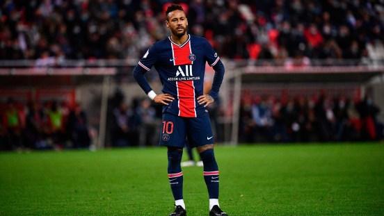 Neymar lesión