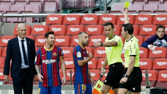 Barça se audios árbitros