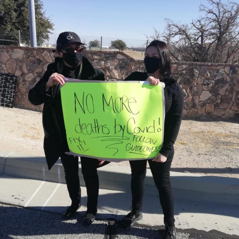 File 004 - Activistas presionan al gobernador para que libere reclusos en California