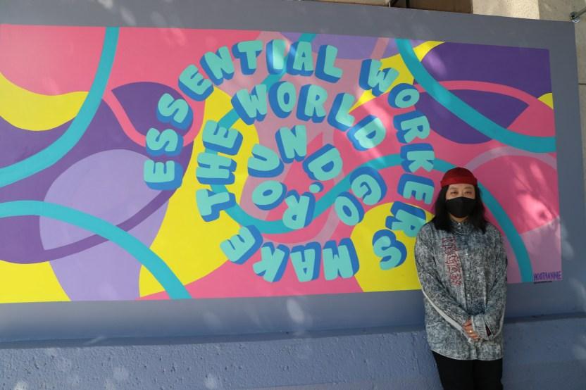 IMG 0166 1 - Develan mural 'Gratitud' en el Consulado de México en Los Ángeles