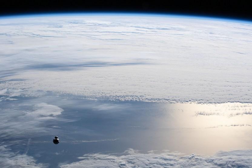 iss065e002960 NASA SpaceX - Los astronautas de SpaceX Crew-1 ya se marcharon de la estación espacial para regresar a la Tierra