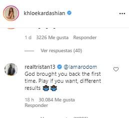Captura de pantalla 2021 07 10 131442 - Ex parejas de Khloé Kardashian protagonizaron tenso momento en Instagram