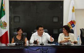 Manifiesta Congreso del Estado, total apertura para avanzar hacia un parlamento abierto: Martínez Arcila