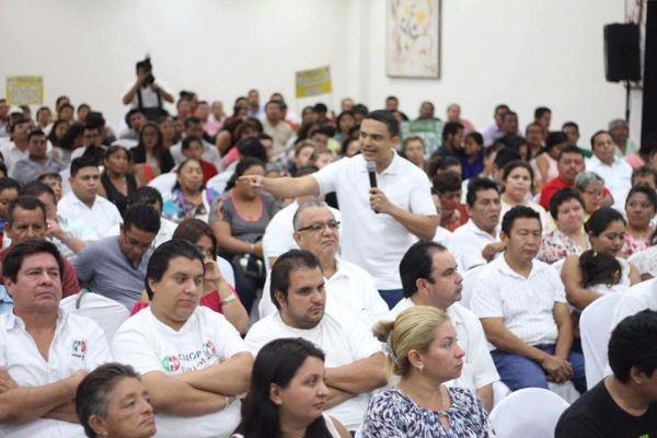 Raymundo inicia con el pie izquierdo; cancela evento por falta de interés de la gente