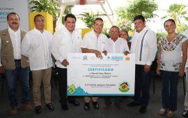 Avanza el programa de vivienda rural e indígena para disminuir la desigualdad: Carlos Joaquín