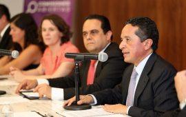 No escatimar esfuerzos para transparentar el ejercicio público, permitirá generar más y mejores oportunidades para la sociedad: Carlos Joaquín