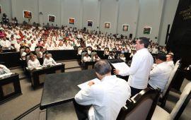 """Pide gobernador renovar """"pacto de concordia"""" en el estado"""