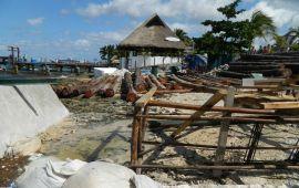 Exigen clausura de muelle en Cozumel