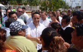 Más de 800 mil habitantes de la zona metropolitana, entre Benito Juárez e Isla Mujeres, ya viven mejor: Carlos Joaquín