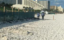 Se cumple la ley en hotel colindante a Playa Delfines: municipio
