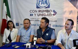 PAN y PRD se enfrentan por Cancún