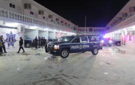 Cozumel: Llegan 15 patrullas del Estado, y se cierra un conflicto con Perla