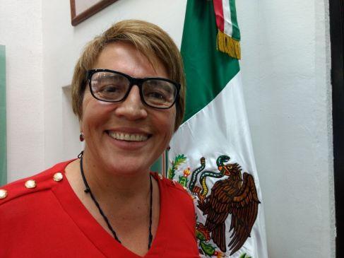 Confirma Laura Beristain que va por Solidaridad por MORENA