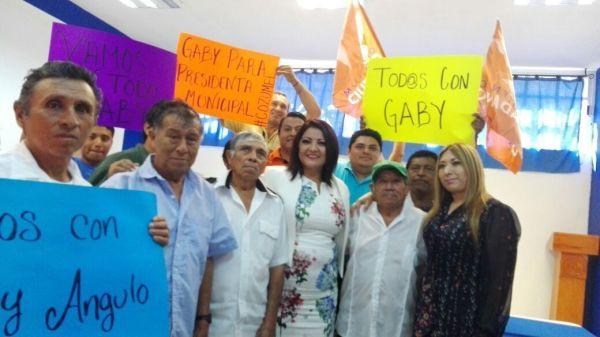Gabriela Angulo no está enterada del Tren Maya