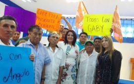 """""""El municipal ha fallado y por eso estoy aquí"""", dice Gaby Angulo; se inscribe como candidata en Cozumel"""