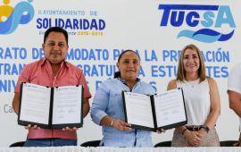 Brinda Cristina Torres servicio de transporte gratuito para estudiantes