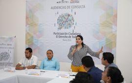 La ciudadanía debe ser corresponsable en las decisiones del Estado: Mayuli Martínez