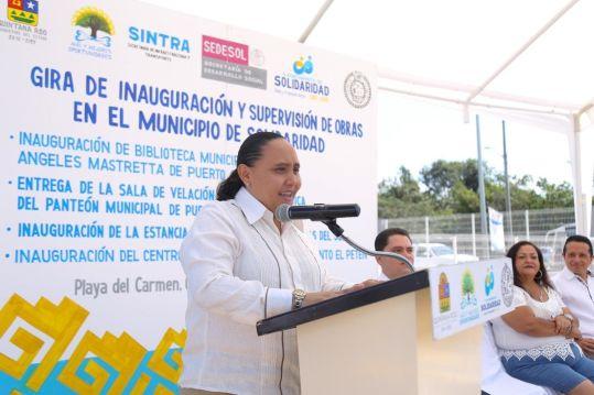 Cumple Gobierno de Solidaridad; entrega obras de salud, educación y apoyo familiar