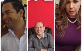 Mara 34%, Chanito 23%, Machuca 15.5%; así arranca la pelea por Cancún