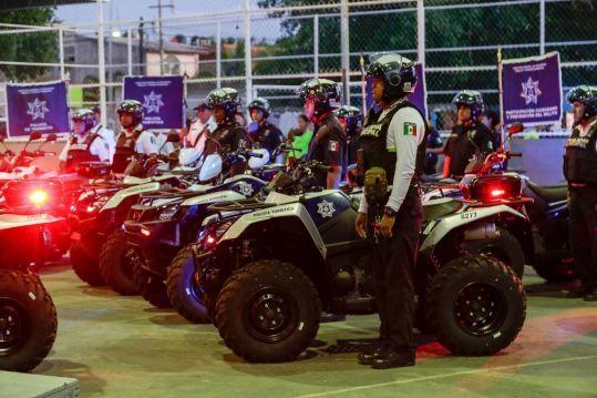Fortalece Solidaridad seguridad en colonias con 25 nuevas unidades