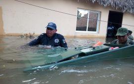 Atención a familias y levantamiento de daños en viviendas de comunidades afectadas por lluvia: Sedetus