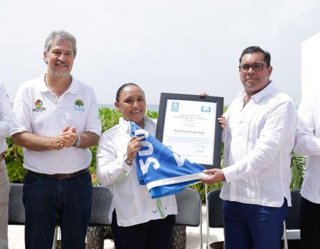 Por primera vez en la historia, Playa del Carmen cuenta con 4 playas certificadas