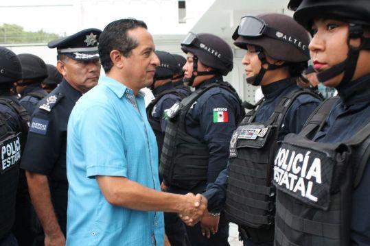 Se pone en marcha Base de Operaciones de la SSP en Playa del Carmen
