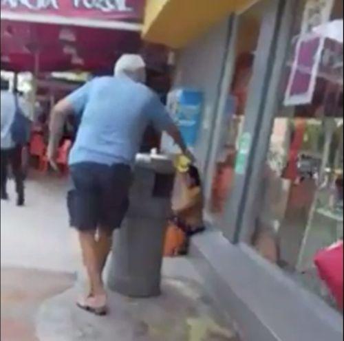 Un hombre vierte ácido junto a niña indígena en ZH (VIDEO)