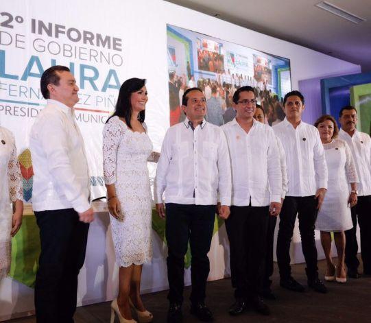 """Le agradezco, Gobernador, que me haya permitido gobernar estos dos años"": Laura Fernández"