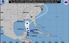 Se forma Tormenta Tropical Michael frente a costas de QR; anuncian fuertes lluvias