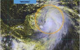 Se intensifican vientos de Michael; suspenden clases en 4 municipios