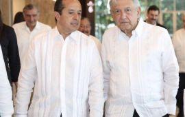 Firma Carlos convenio de salud con AMLO