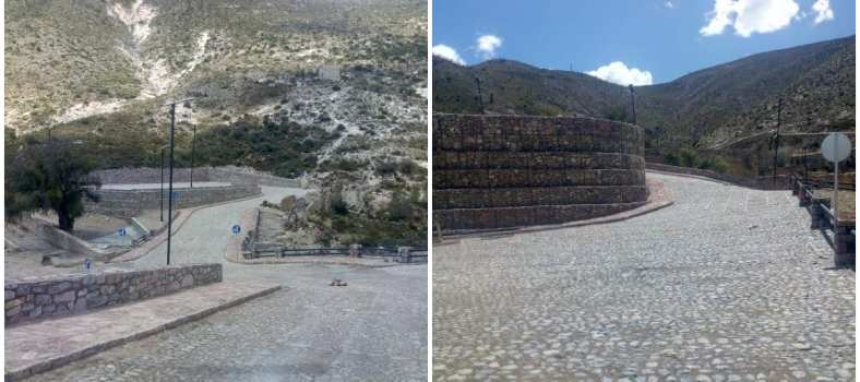 estacionamiento en Real de Catorce