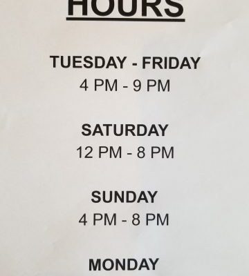 LTK Hours During Shelter in Place/Lockdown
