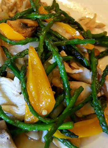 Back for a Limited Time! Whiteboard Specials: Baby Asparagus Stir-fry