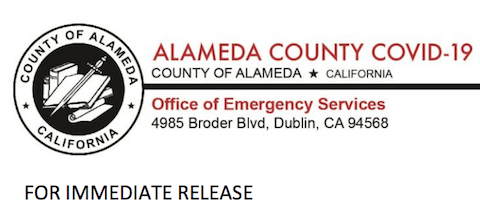 FOR IMMEDIATE RELEASE: Alameda County COVID-19 Health Emergency Press Release on Outdoor Dining