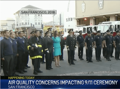 Air Quality, Pandemic Prompt Changes to SF's 9/11 Ceremony