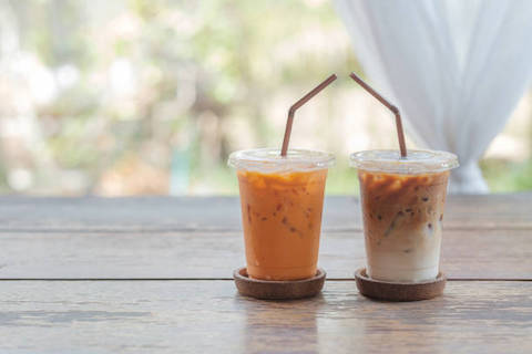 Hot? Grab a Thai Iced Tea or Thai Iced Coffee!