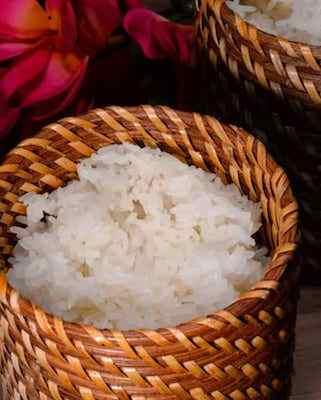 Laotian Sticky Rice (Khao Niew)