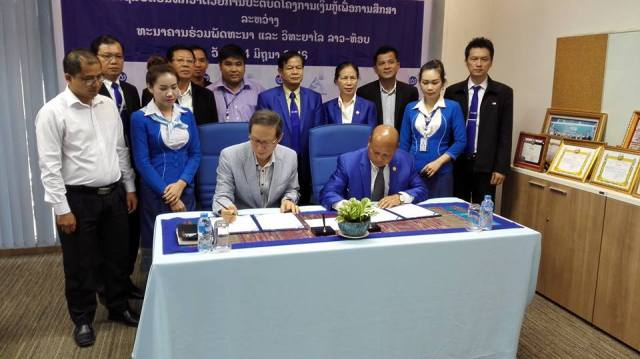 Lao-Top College and JDB